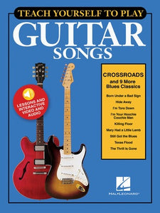 TEACH YOURSELF GUITAR CROSSROADS BK/OLM