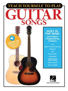 TEACH YOURSELF GUITAR DUST IN THE WIND BK/OLM