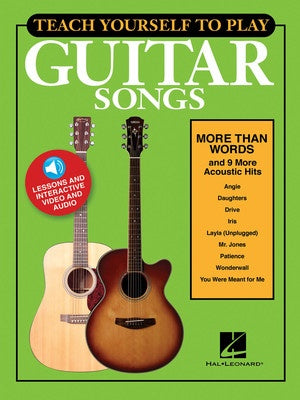 TEACH YOURSELF GUITAR MORE THAN WORDS BK/OLM