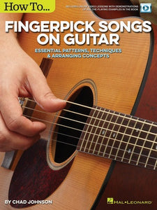 HOW TO FINGERPICK SONGS ON GUITAR BK/OLV