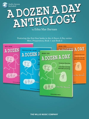 A DOZEN A DAY ANTHOLOGY BK/OLA