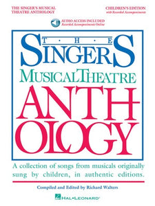 SINGERS MUSICAL THEATRE ANTH CHILDREN BK/OLA