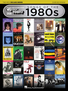 EZ PLAY 368 SONGS OF 1980S NEW DECADE SERIES