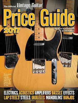 OFFICIAL VINTAGE GUITAR PRICE GUIDE 2017