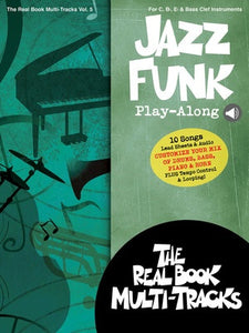 JAZZ FUNK PLAYALONG V5 BK/OLM
