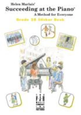 SUCCEEDING AT THE PIANO GR 2B STICKER BOOK