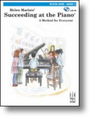 SUCCEEDING AT THE PIANO GR 3 RECITAL BOOK BK/CD