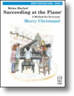 SUCCEEDING AT THE PIANO GR 3 MERRY CHRISTMAS BOOK