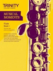 MUSICAL MOMENTS FLUTE BK 1 FLUTE/PIANO