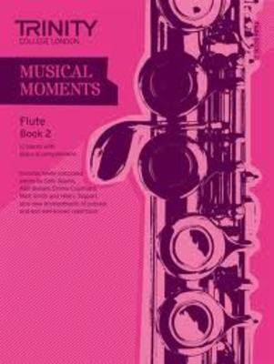 MUSICAL MOMENTS FLUTE BK 2 FLUTE/PIANO