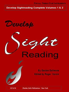 DEVELOP SIGHT READING COMPLETE VOL 1-2 TREBLE CLEF