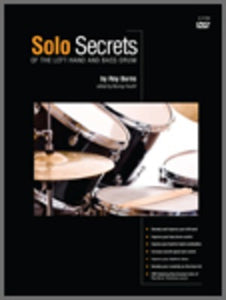 SOLO SECRETS LEFT HAND AND BASS DRUM BK/DVD