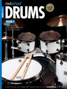 ROCKSCHOOL DRUMS GR 7 BK/CD 2012 - 2018