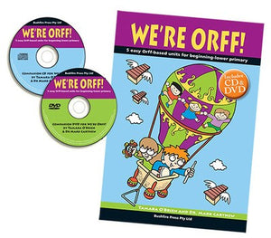 WE'RE ORFF 1 BK/CD/DVD