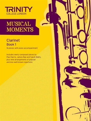 MUSICAL MOMENTS CLARINET BK 1 CLA/PNO