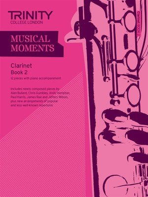 MUSICAL MOMENTS CLARINET BK 2 CLA/PNO