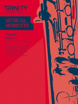 MUSICAL MOMENTS CLARINET BK 4 CLA/PNO