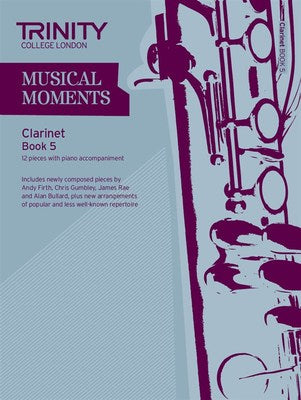 MUSICAL MOMENTS CLARINET BK 5 CLA/PNO