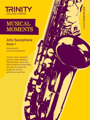 MUSICAL MOMENTS ALTO SAX BK 1 SAX/PNO