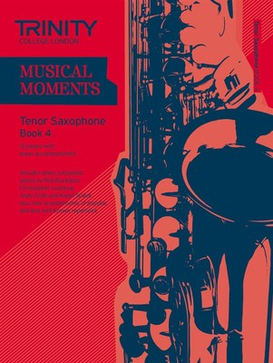 MUSICAL MOMENTS TENOR SAX BK 4 SAX/PNO
