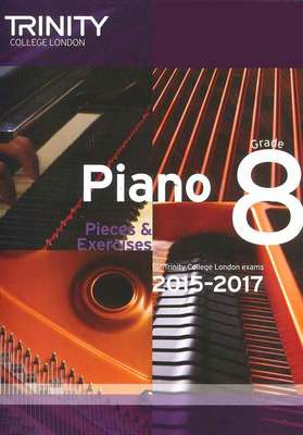 PIANO PIECES & EXERCISES GR 8 2015-2017