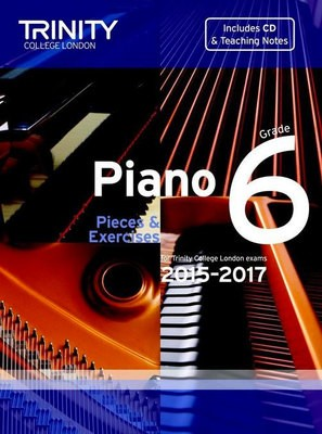 PIANO PIECES & EXERCISES GR 6 2015-2017 BK/CD