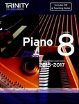 PIANO PIECES & EXERCISES GR 8 2015-2017 BK/CD