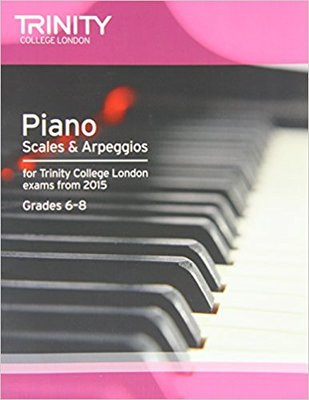 PIANO SCALES & ARPEGGIOS GR 6-8 FROM 2015
