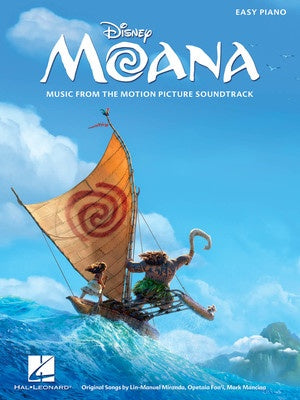MOANA MOVIE SOUNDTRACK EASY PIANO