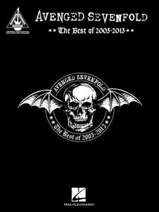 AVENGED SEVENFOLD - BEST OF 2005-2013 GUITAR TAB RV