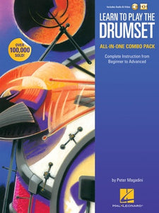 LEARN TO PLAY THE DRUMSET ALL-IN-ONE BK/OLM