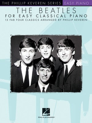 BEATLES FOR EASY CLASSICAL PIANO KEVEREN SERIES