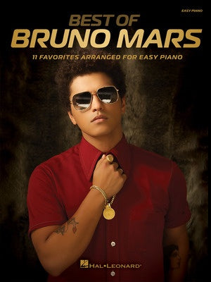 BEST OF BRUNO MARS EASY PIANO