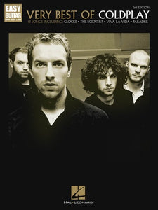 VERY BEST OF COLDPLAY EASY GUITAR TAB 2ND EDITION