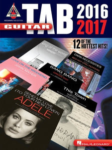 GUITAR TAB 2016 RECORDED VERSIONS