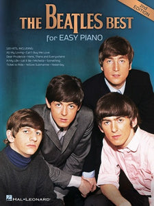 BEATLES BEST FOR EASY PIANO 2ND EDITION