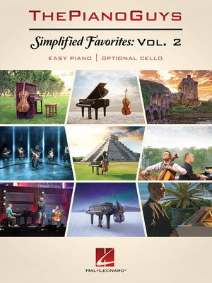 SIMPLIFIED FAVORITES VOL 2 EASY PIANO & CELLO
