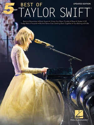 BEST OF TAYLOR SWIFT FIVE FINGER PIANO UPDATED