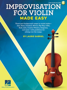 IMPROVISATION FOR VIOLIN MADE EASY BK/OLA