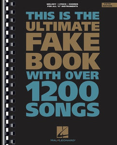 ULTIMATE FAKE BOOK C EDITION 5TH ED