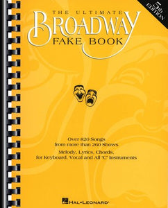 ULTIMATE BROADWAY FAKE BOOK 5TH EDITION