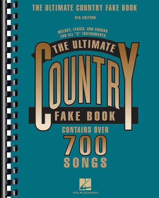 ULTIMATE COUNTRY FAKE BOOK 5TH EDITION