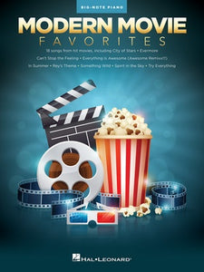 MODERN MOVIE FAVORITES FOR BIG NOTE PIANO