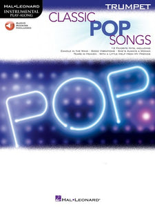 CLASSIC POP SONGS FOR TRUMPET BK/OLA