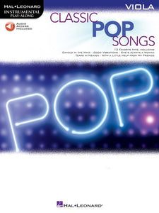CLASSIC POP SONGS FOR VIOLA BK/OLA
