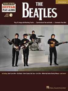THE BEATLES DELUXE GUITAR PLAYALONG V4 BK/OLA