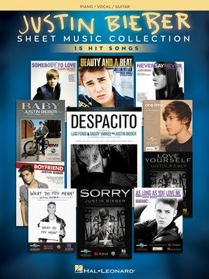JUSTIN BIEBER - SHEET MUSIC COLLECTION PVG