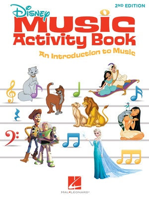 DISNEY MUSIC ACTIVITY BOOK 2ND EDITION