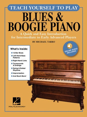 TEACH YOURSELF TO PLAY BLUES & BOOGIE PIANO BK/OLA