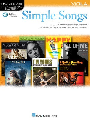 SIMPLE SONGS FOR VIOLA BK/OLA